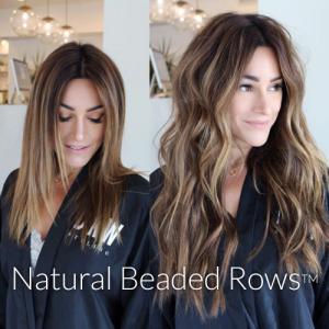 Natural Beaded Rows